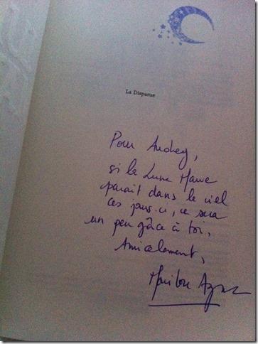 Dédicace Marilou Aznar